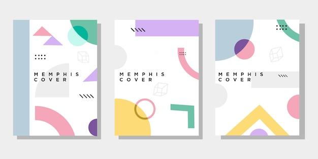 Kreative lebendige cover-kollektion