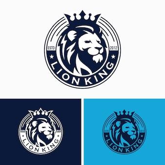 Kreative lion logo vorlagen