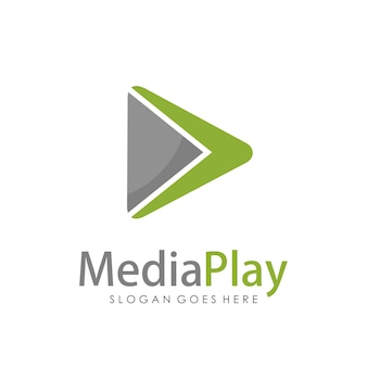 Kreative medien-tv-logo-design-vorlage
