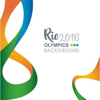 Kreative rio olympics hintergrund