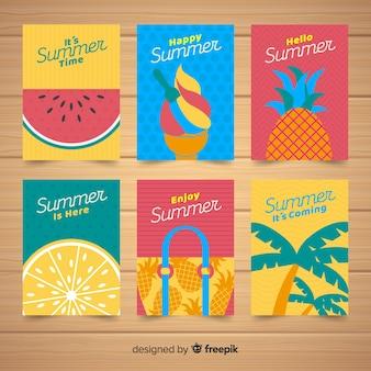 Kreative sommerkarten