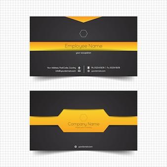 Kreative visitenkarte template-design