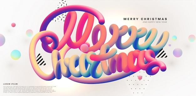 Kreative weihnachten hintergrunddesign