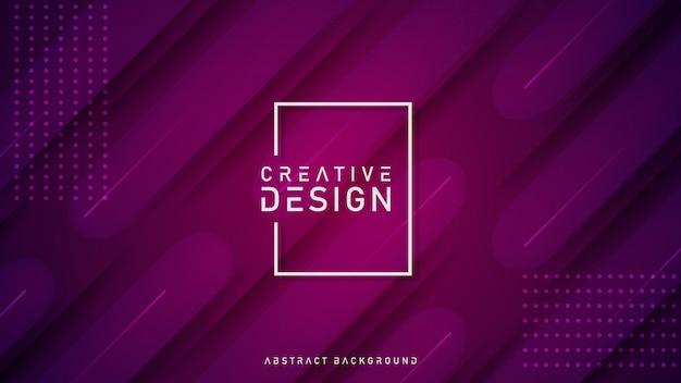 Kreativer abstrakter geometrischer hintergrund