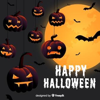 Kreativer Halloween-Hintergrund