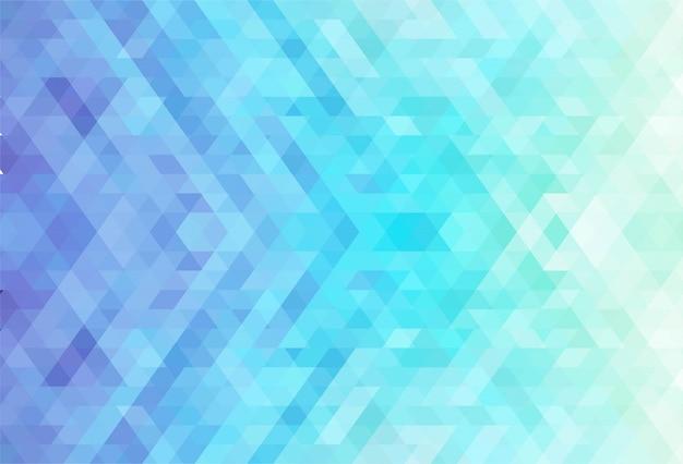 Kreativer hintergrund der abstrakten bunten geometrischen formen