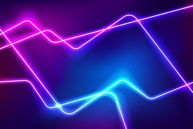 Kreativer leuchtender neonhintergrund
