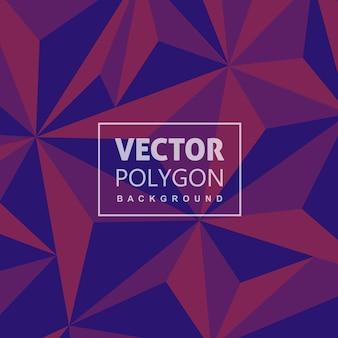 Kreativer lowpoly vektor hintergrund