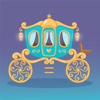 Kreativer märchenwagen