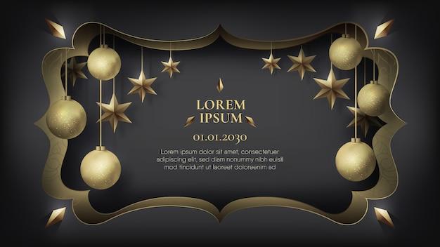 Kreativer rahmen für event- und promotion-werbung.