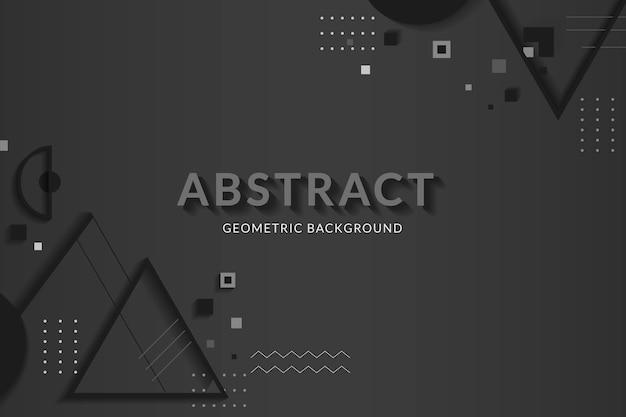 Kreativer raum für geometrische gestaltung
