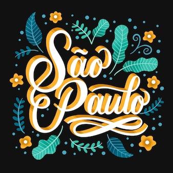 Kreativer sao paulo schriftzug