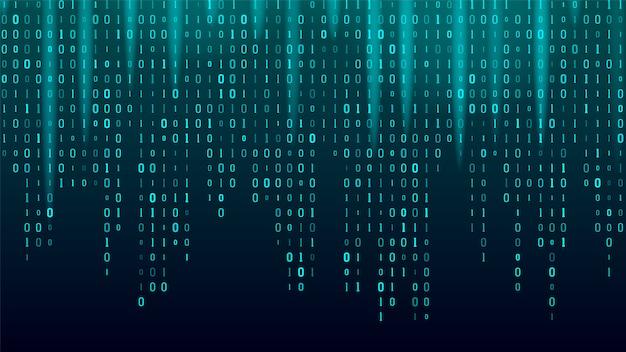 Kreativer strom des binärcode-algorithmus