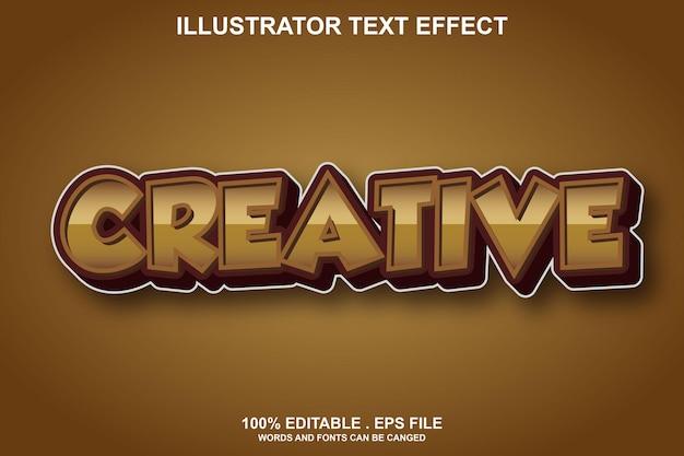 Kreativer texteffekt editierbar