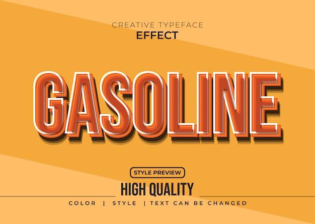 Kreativer texteffekt mit vintage-stil
