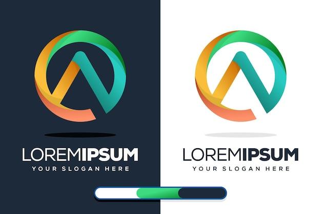 Kreatives brief- und logodesign