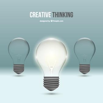 Kreatives denken konzept