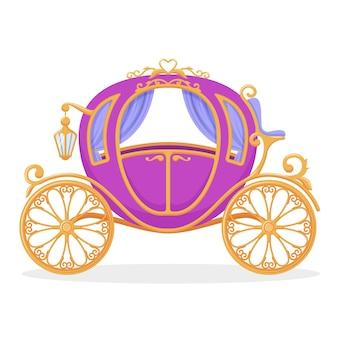 Kreatives design für märchenwagen