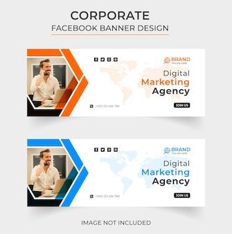 Kreatives digitales marketing-facebook-banner