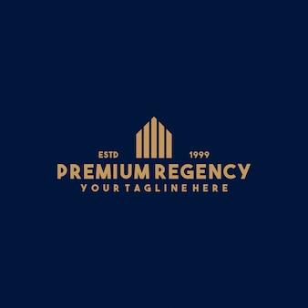 Kreatives immobilien-logo-design