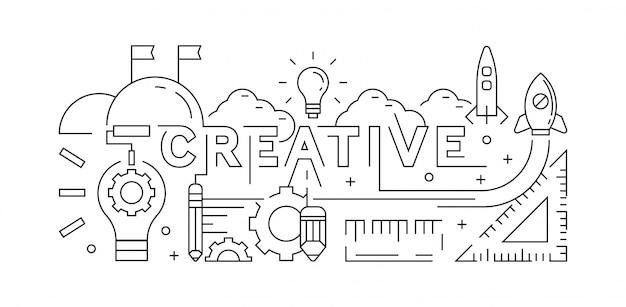 Kreatives konzept