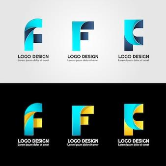 Kreatives logo des briefes