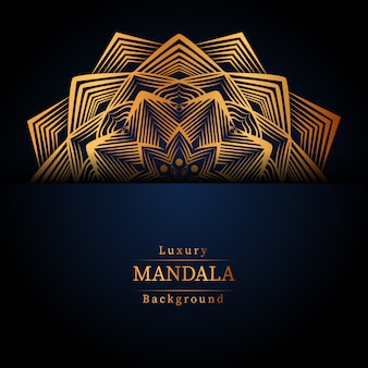 Kreatives luxus-mandala