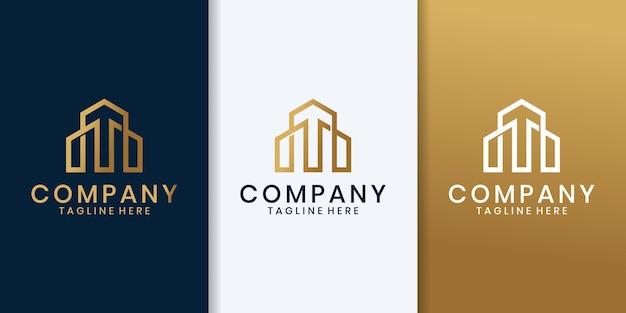 Kreatives luxushauskonzept online