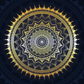 Kreatives mandala-hintergrundmuster