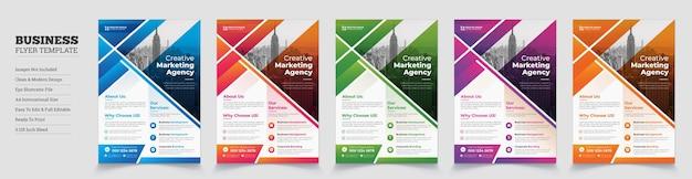 Kreatives modernes unternehmens-flyer-design unternehmens-flyerfirmen-business-flyer-design