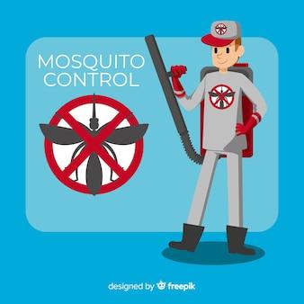 Kreatives moskito-kontrolldesign