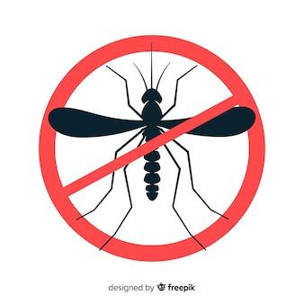 Kreatives moskito-kontrollkonzept