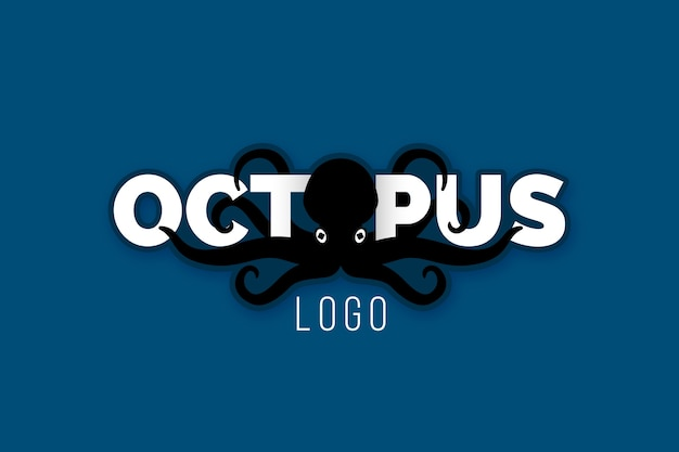 Kreatives oktopus-logo-design