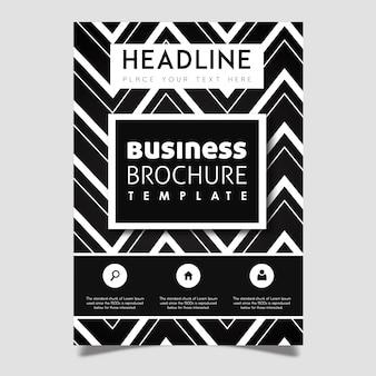 Kreatives Vektor-Broschüren-Schablonen-Design