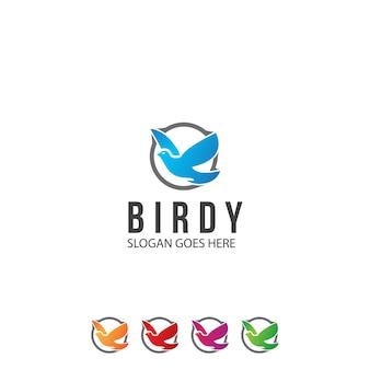 Kreatives vogel-logo