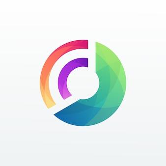 Kreis abstarct logo vorlage