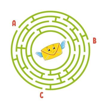 Kreis labyrinth.