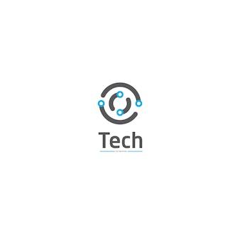 Kreis-schaltungstechnologie-logo