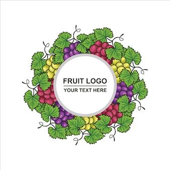 Kreis trauben logo