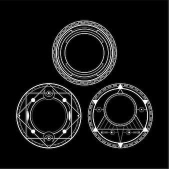 Kreis-zauber-rune