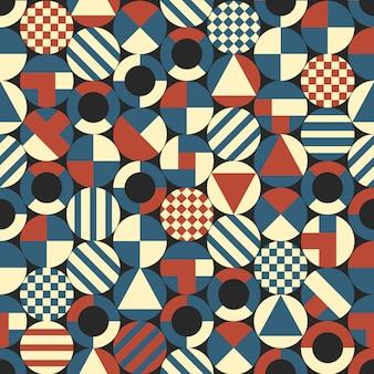 Kreise mit geometrischen formen