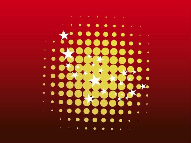 Kreise und sterne