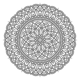 Kreisförmige mandala illustration orientalischen stil