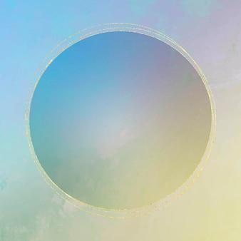 Kreisförmiger rame-hintergrund