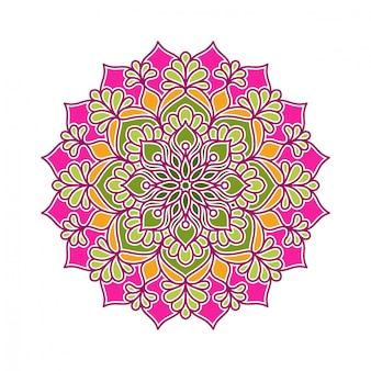 Kreisförmiges mandala-ornament-design