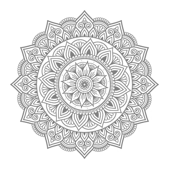 Kreisförmiges mandala