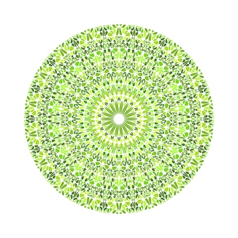 Kreisförmiges rundes geometrisches abstraktes kiesmuster-mandala