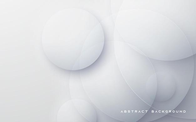 Kreisform weißer abstrakter hintergrund