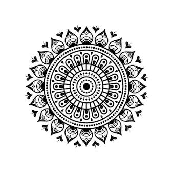Kreismuster in form von mandala