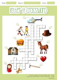 Kreuzworträtsel-vorlage